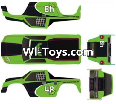 Wltoys A323 Body shell cover Parts-Blue,Wltoys A323 Parts