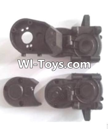 Wltoys A323 Gearbox unit(Upper and bottom Gear box cover & Dust cover),Wltoys A323 Parts