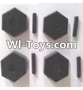 Wltoys A323 Six angle adapter(4pcs),Wltoys A323 Parts