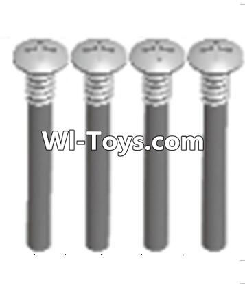 Wltoys A323 upper half tooth screws Parts(M3X36 PMO)-4PCS,Wltoys A323 Parts