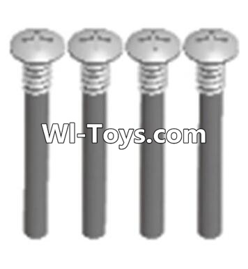 Wltoys A323 Cross recessed round head upper teeth Srews(M3X30 PM D5.5)-4PCS,Wltoys A323 Parts