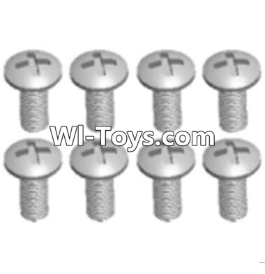 Wltoys A323 Round head machine screws Parts(M2.5X10 PM D4)-8pcs,Wltoys A323 Parts