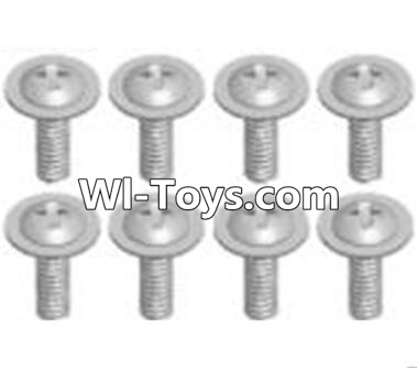 Wltoys A323 Cross recessed round head screws Parts(M2.6X6 PWB)-8pcs,Wltoys A323 Parts