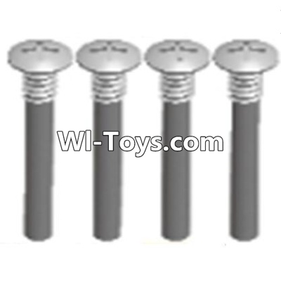 Wltoys A323 Half tooth cross head screws Parts(M2.5X15)-4PCS,Wltoys A323 Parts