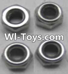 Wltoys A323 L959-65 Locknut set(4pcs),Wltoys A323 Parts