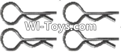 Wltoys A323 Pin,R-shape Pin Parts-1X22.2MM(4pcs)-K939-49,Wltoys A323 Parts