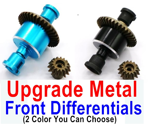 Wltoys A979 A979B A979-B Upgrade Metal Front Differentials-(Both for A979 A979B A979-B)