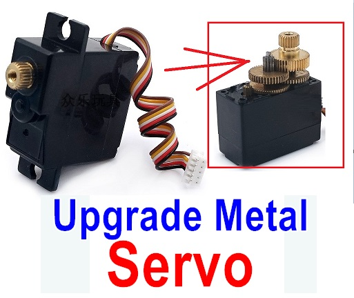 Wltoys A979 A979B A979-B Upgrade Metal Servo-(Both for A979 A979B A979-B)