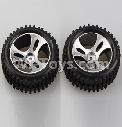 Wltoys A959B A959-B Wheel-Official Left Wheel(2pcs),Wltoys A959B A959-B Parts