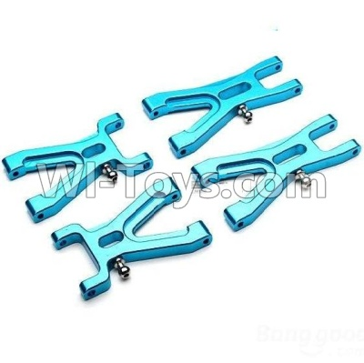Wltoys A959B A959-B Upgrade Metal Front Swing arm(2pcs) & Upgrade Metal Rear Swing arm Parts,Wltoys A959B A959-B Parts