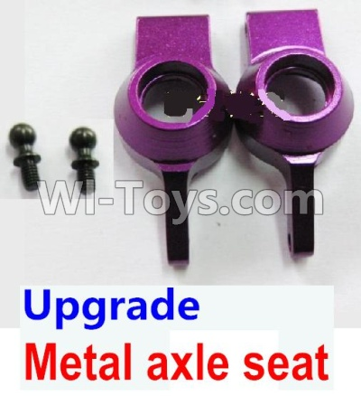 Wltoys A959B A959-B Upgrade Metal axle seat-Purple Parts,Wltoys A959B A959-B Parts