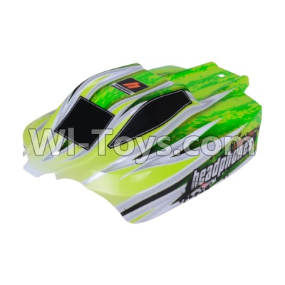 Wltoys A959B A959-B Body shell-Body Shell Cover Parts,Car Canopy,Shell cover-Green Parts,Wltoys A959B A959-B Parts