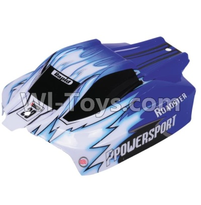 Wltoys A959B A959-B Body shell-Body Shell Cover Parts,Car Canopy,Shell cover-Blue Parts,Wltoys A959B A959-B Parts