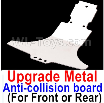 Wltoys A959B A959-B Upgrade Metal Front or Rear Anti-collision board,Wltoys A959B A959-B Parts