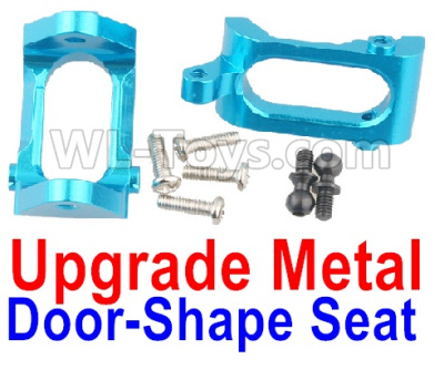 Wltoys A959B A959-B Upgrade Metal Door-Shape Seat Parts(2pcs)-Blue,Wltoys A959B A959-B Parts