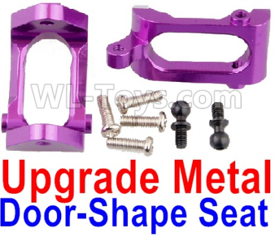 Wltoys A959B A959-B Upgrade Metal Door-Shape Seat Parts(2pcs)-Purple,Wltoys A959B A959-B Parts