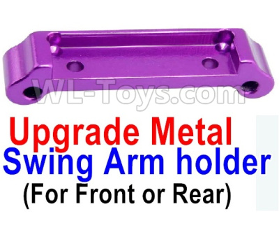 Wltoys A959B A959-B Upgrade Metal Swing Arm holder(For Front or Rear)-Purple,Wltoys A959B A959-B Parts