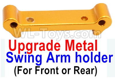 Wltoys A959B A959-B Upgrade Metal Swing Arm holder(For Front or Rear)-Yellow,Wltoys A959B A959-B Parts