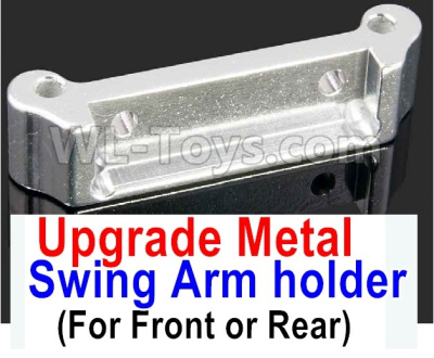 Wltoys A959B A959-B Upgrade Metal Swing Arm holder(For Front or Rear)-Silver,Wltoys A959B A959-B Parts
