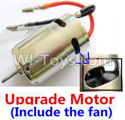 Wltoys A959B A959-B Upgrade Brushless motor(Include the Fan,can strengthen the cooling function),Wltoys A959B A959-B Parts
