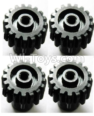 Wltoys A959B A959-B Upgrade Steel motor Gear(4pcs)-0.7 Modulus-Black-27 Teeth Parts,Wltoys A959B A959-B Parts