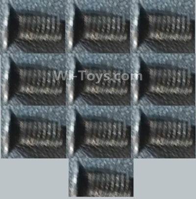 Wltoys A959B A959-B Screws-Countersunk head inner hexagon Machine Screw-M3X8(10PCS),Wltoys A959B A959-B Parts