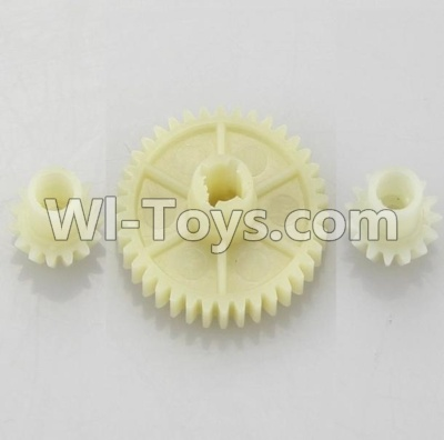 Wltoys A959B A959-B Reduction gear with 2 small gear Parts-Official ,Wltoys A959B A959-B Parts