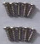 Wltoys A959B A959-B screws-Round head self-tapping screws-M2X7(10PCS)-A9A9-39,Wltoys A959B A959-B Parts