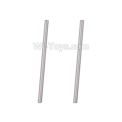 Wltoys A959B A959-B Pin for the Swing arm(2pcs)-2X40.8mm-A969-08,Wltoys A959B A959-B Parts