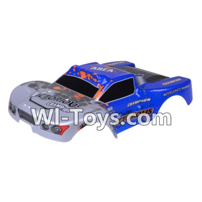 Wltoys A969-B A969B Body Shell Cover Parts,Car Canopy,Shell cover-Blue,Wltoys A969-B A969B Parts