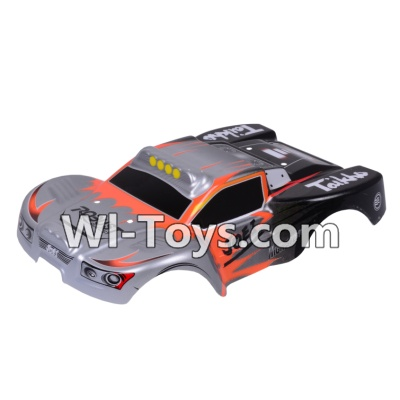 Wltoys A969-B A969B Body Shell Cover Parts,Car Canopy,Shell cover-Gray,Wltoys A969-B A969B Parts