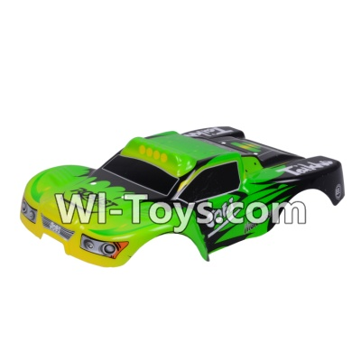 Wltoys A969-B A969B Body Shell Cover Parts,Car Canopy,Shell cover-Green,Wltoys A969-B A969B Parts