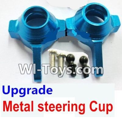 Wltoys A969-B A969B Upgrade Metal steering Cup-Blue,Wltoys A969-B A969B Parts