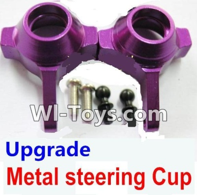 Wltoys A969-B A969B Upgrade Metal steering Cup-Purple,Wltoys A969-B A969B Parts