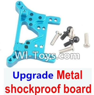 Wltoys A969-B A969B Upgrade Metal Front or Rear shockproof board-Blue,Wltoys A969-B A969B Parts