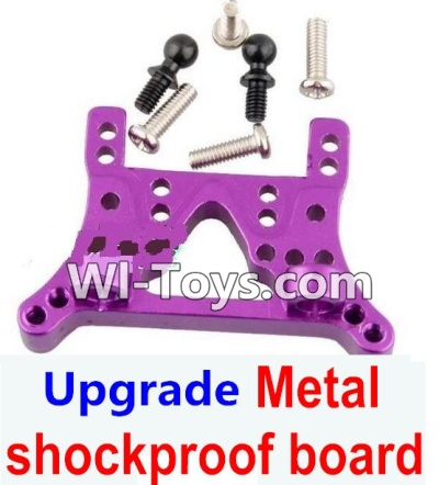 Wltoys A969-B A969B Upgrade Metal Front or Rear shockproof board-Purple,Wltoys A969-B A969B Parts