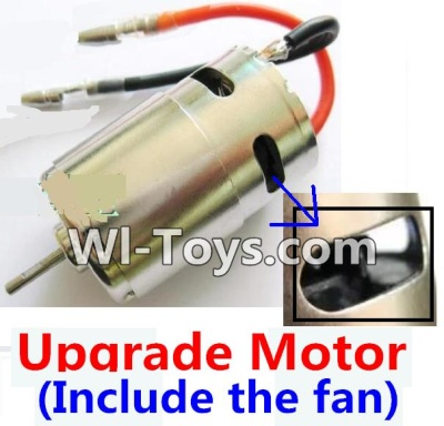 Wltoys A969-B A969B Upgrade Brushless motor(Include the Fan,can strengthen the cooling function),Wltoys A969-B A969B Parts