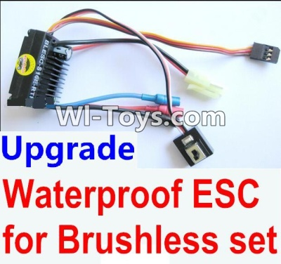 Wltoys A969-B A969B Upgrade waterproof ESC for the Brushless set,Wltoys A969-B A969B Parts