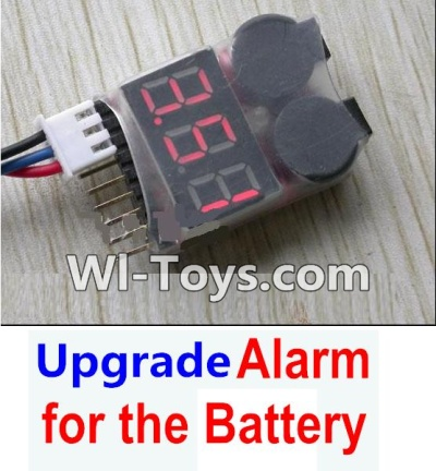 Wltoys A969-B-23-05 Upgrade Alarm for the Battery,Can test whether your Battery has enouth power,Wltoys A969-B A969B Parts