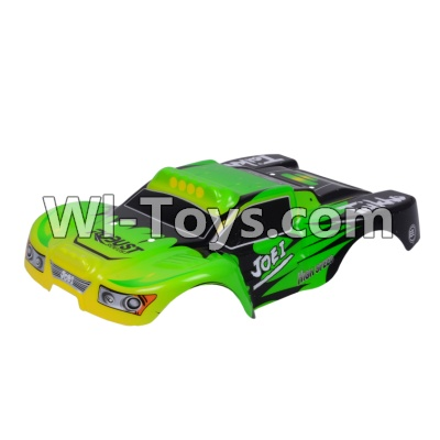 Wltoys A969 Body shell cover Parts,Car canopy,Shell cover-Green,Wltoys A969 Parts