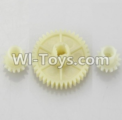 Wltoys A969 Official Reduction gear with 2 small gear Parts,Wltoys A969 Parts