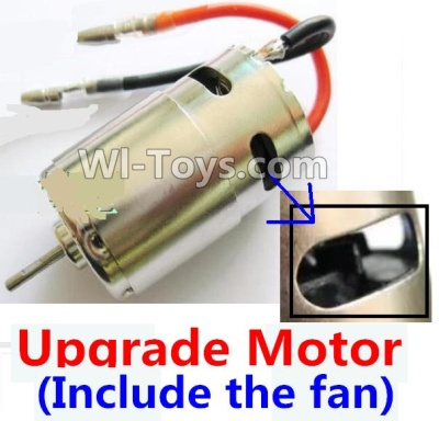 Wltoys A969 Upgrade Brush motor(Include the Fan,can strengthen the cooling function) Parts,Wltoys A969 Parts