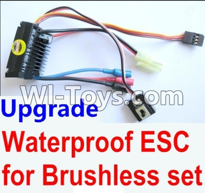 Wltoys A969 Upgrade waterproof ESC for the Brushless set Parts,Wltoys A969 Parts