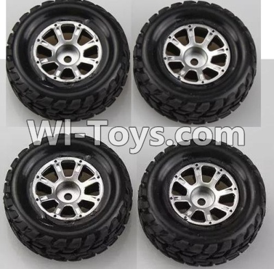 Wltoys A969 Wheel Parts-official-(2pcs Left and 2pcs Right Wheel),Wltoys A969 Parts