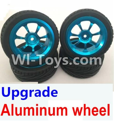 Wltoys A969 Upgrade Aluminum wheel Parts(4pcs-Include the Tire leather)