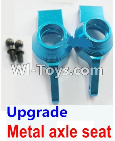 Wltoys A969 Upgrade Metal axle seat Parts-Blue,Wltoys A969 Parts