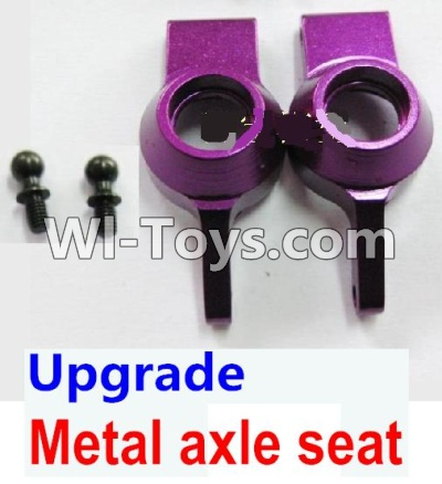 Wltoys A969 Upgrade Metal axle seat Parts-Purple,Wltoys A969 Parts