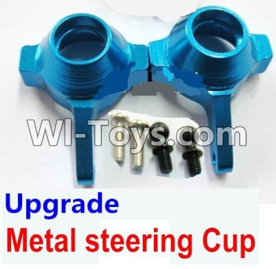 Wltoys A969 Upgrade Metal steering Cup Parts-Blue,Wltoys A969 Parts