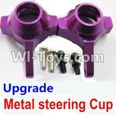 Wltoys A969 Upgrade Metal steering Cup Parts-Purple,Wltoys A969 Parts
