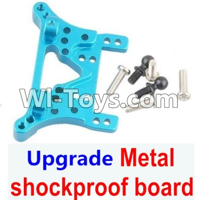 Wltoys A969 Upgrade Metal shockproof board Parts-Blue,Wltoys A969 Parts